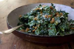 Raw Tuscan Kale Salad